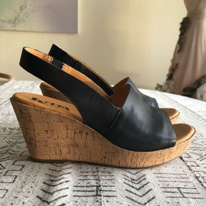 Korks by Kork-Ease Platform Wedge Sandal